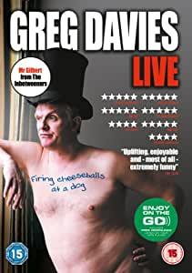Greg Davies Live - Firing Cheeseballs at a Dog [DVD]