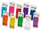 Vetrineinrete Palloncini Lunghi modellabili Colorati 150 Pezzi 10 Colori Palloncino in Lattice modellabile da gonfiare per Festa di Compleanno 31 cm Vari Colori G48