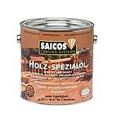 0,75L Saicos Holz Spezial Öl Bangkirai Holzöl Terrassenöl Hartholzöl