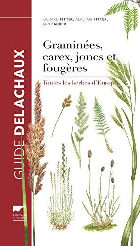 Graminées, carex, joncs et fougères. Toutes les herbes d'Europe par Richard Fitter