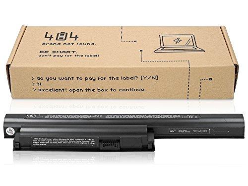 Wessper Laptop Akku für Sony Vaio PCG-71911M (10.8V, 4400 mAh)