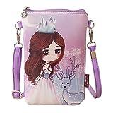 Rucksack Rcool Umhängetaschen Damen Handtaschen & Karikatur Handtaschen Kinder Mädchen Mini Crossbody Tasche (B)