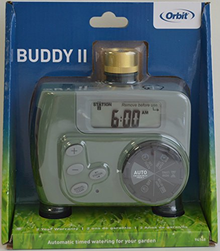 Orbit 94148 Buddy II Programmateur d'arrosage automatique digital duo