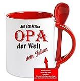 Kaffeetasse m. Löffel