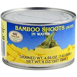 Rodajas de bambú de agua 227gr.