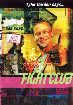 FIGHT CLUB - BRAD PITT - Imported Movie Wall Poster Print - 30CM X 43CM Brand New -
