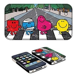 Coque iPhone 4 Monsieur Madame