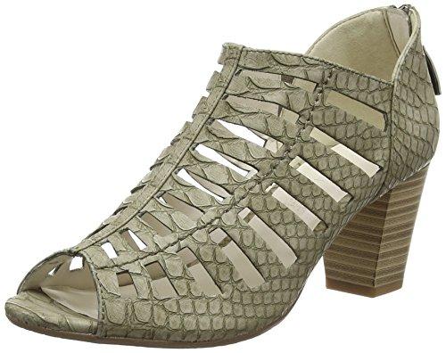 Gerry Weber - Lotta 05, sandali punta chiusa Donna Verde (Grün (sage 601))