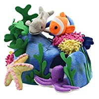 The Puppet Company - Hide-Away Puppets Under The Sea Finger Puppet Set