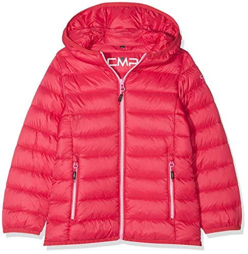 CMP Feel Warm Flock, Jacke Mädchen, rot (Granita), 128
