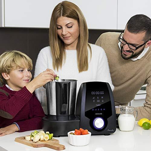 Cecotec Robot de Cocina Multifunción Mambo Black