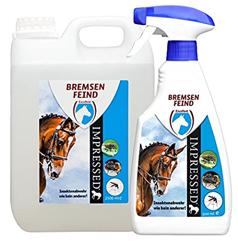 Holland Animal Care BREM0500 HVP Bremsenfeind, Insektenspray, Pferde, 500 ml