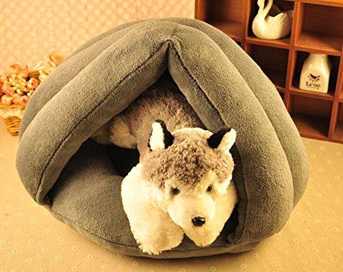 CIDBEST® kreative Warm niedlich weiche Kuschelhöhle Haustier/Katzen/Schlafplätze Pet House Haustiere Hund-Katze-Welpen-Bett Warm Sofa House Bed Mat Hund Zimmer Kuschelhöhle/Hundehöhle - 2