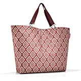 Reisenthel Shopper XL Strandtasche, 68 cm, 35 L, Diamonds Rouge