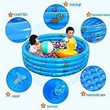 PMFS Inflatable Baby-Swimmingpool-bewegliche im Freienkind-Bassin-Badewanne scherzt...