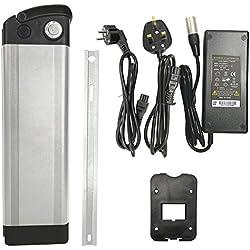 Ehebt Ebike Battery Pack batterie de vélo électrique 36V-10.4ah Li-Ion avec chargeur compatible avec pour Prophete, Kreidler, Vitalité, Spectro A. O., Samsung Cell, CE RoHS GS TÜV