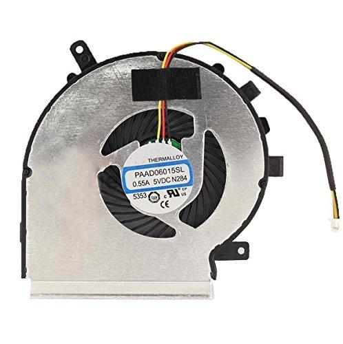 3CTOP CPU-Kühler Lüfter für MSI ge62ge72pe60pe70GL62paad06015sl 3Pin -