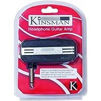 Kinsman KAC703 Metal Mini-ampli Casque Noir