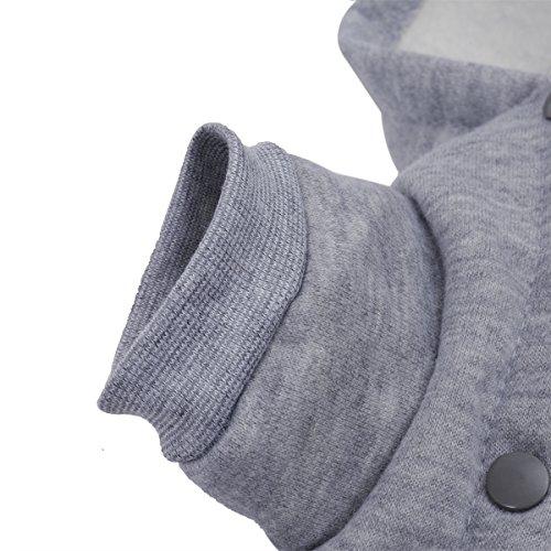 PAWZ Road Hundepullover Hoodie Mantel in vier Farben erhältlich - 5