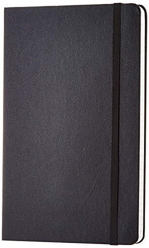 Callas Classic Notebook 80 GSM Paper, Ruled - 130mm X 210mm, Black