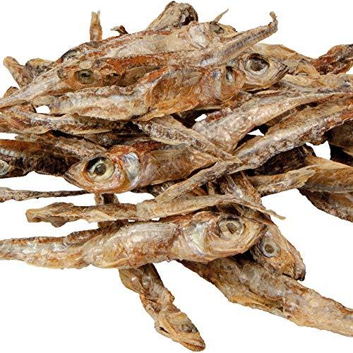 Schecker Stint im Ganzen 250g Leckere kleine Fischchen zur Aufwertung des Futterplans oder als gesunder Snack für Zwischendurch