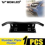 Soporte de montaje para matrículas y barra para faros auxiliares led de Wowled (ajuste para camiones, vehículos utilitarios deportivos y todoterrenos)