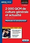 2000 QCM de culture g�n�rale et actua...