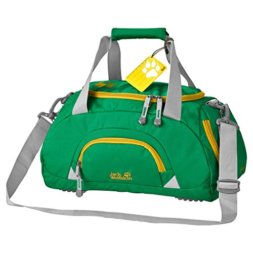 Jack Wolfskin Kinder Sporttasche Rockpoppy Forest Green