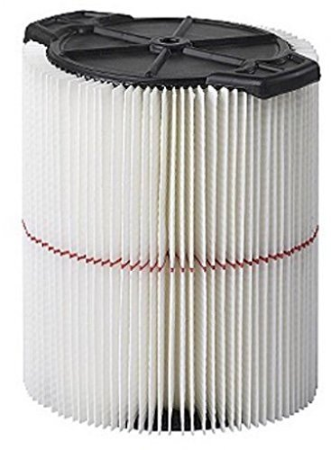 Craftsman 9-17816 Filter Fits All Current Craftsman Vacuums 5 Gallons and Above by Craftsman (17816 Filter)