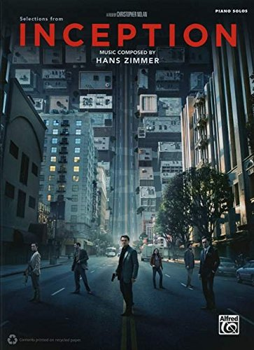 Click for larger image of Inception -- Movie Selections: Piano Solos