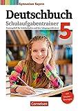 Deutschbuch Gymnasium - Bayern - Neubearbeitung / 5. Jahrgangsstufe - Schulaufgabentrainer mit Lösungen - Michael Lessing