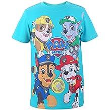 LA PATRULLA CANINA, Paw Patrol Niños Camiseta, T-Shirt, verde