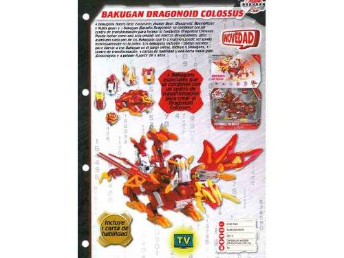 BAKUGAN DRAGONOID COLOSSUS -CR11-