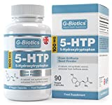 Cápsulas 5-HTP de G-Biotics ~ Suplemento EXTRA de ALTO GRADO