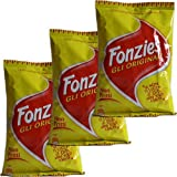 3x Fonzies Gli Originali 'Maissnack mit Käsegeschmack', 100 g