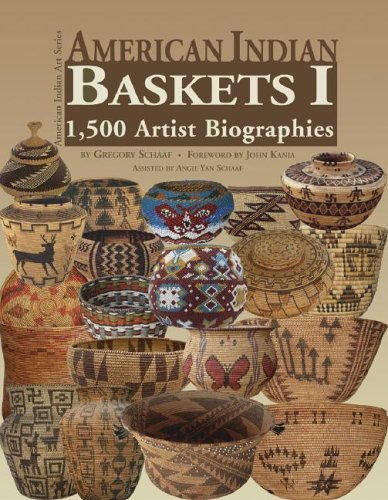 American Indian Baskets I: 1,500 Artist Biographies (American Indian Art Series) (American Indian Art (Numbered)) by Gregory Schaaf (2006-05-01) par Gregory Schaaf