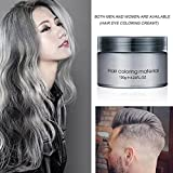 Best Hair Pomade For Women - Disposable Silver Colour Grandma Grey Hair Wax Pomade Review