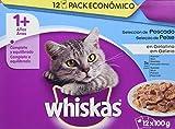 Whiskas Bolsitas para Gatos 1+ Años Selección de Pecado - [Pack de...