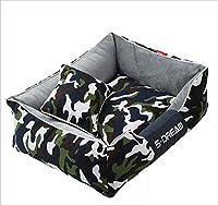 Dog House Camouflage Hiver Lavable Peluche Nid De Chat Grand Chien Golden Retriever Tapis De Chien Creative Nid d'animal W