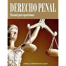 Derecho Penal - Manual de oposiciones