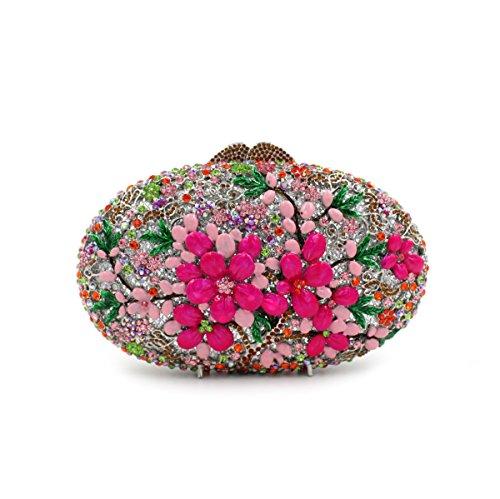 MYM Ladies Dinner Set diamant strass diamants sac à main Portefeuilles Manuscrits nuptiale