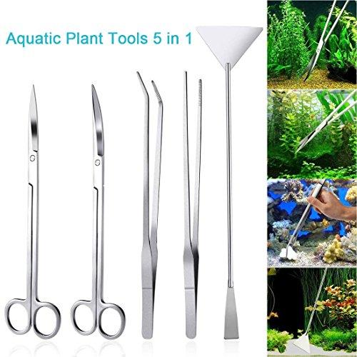 LONDAFISH Ensemble d'outils pour Plantes en Acier...