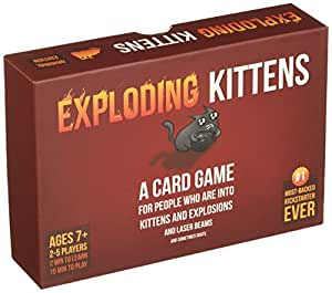 EXPLODING KITTENS: A Card Game About Kittens and Explosions and Sometimes Goats - ENGLISH VERSION