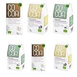 Raw Cocoa Bio Rohe Schokoladen Mix-Paket für Kokosliebhaber | Hergestellt aus Rohen Ungerösteten Kakaobohnen bei unter 45 °C | Sorgfältig mehr als 60 Stunden Conchiert | mit Kokosblütenzucker Gesüßt | Vegan, Glutenfrei, Laktosefrei, Roh