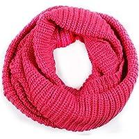 Männer Frauen EXT große Winter Circle Cable Knit Cowl Hals lange Schal Schal Snood
