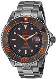 Invicta 22216 Pro Diver Herren Uhr Edelstahl Automatik grauen Zifferblat