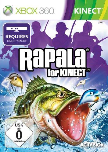 Rapala Fishing (Kinect erforderlich) (Ps3 Fisch Für Spiele)