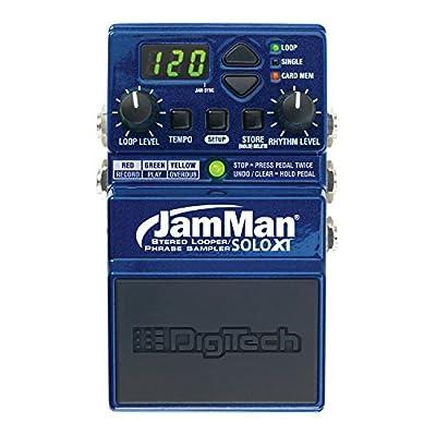 DigiTech jmsxt JamMan Solo XT Stereo Compact Looper Pedal with micro-SDHC Card Slot / mini USB B 2.0