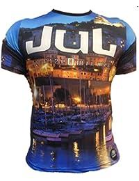 JUL - Tee shirt JUL bleu imprimé Vida Loca 13 - Xs,s,m,l,xl