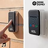 Oramics Wireless Bluetooth Türklingel mit bis zu 20 Meter Reichweite • Steuerung über Smartphone